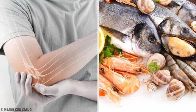 Kan vis eten de pijn van reumatoïde artritis verlichten?