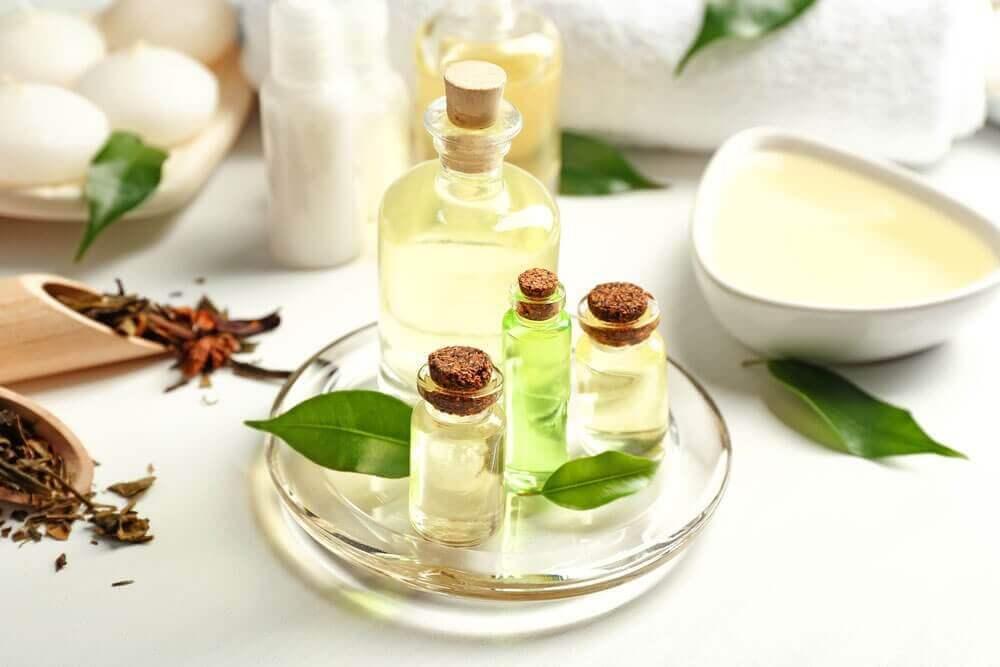 Tea tree olie helpt tegen huidirritatie na het scheren