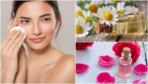 4 zelfgemaakte toners om je huid elke dag te verfrissen