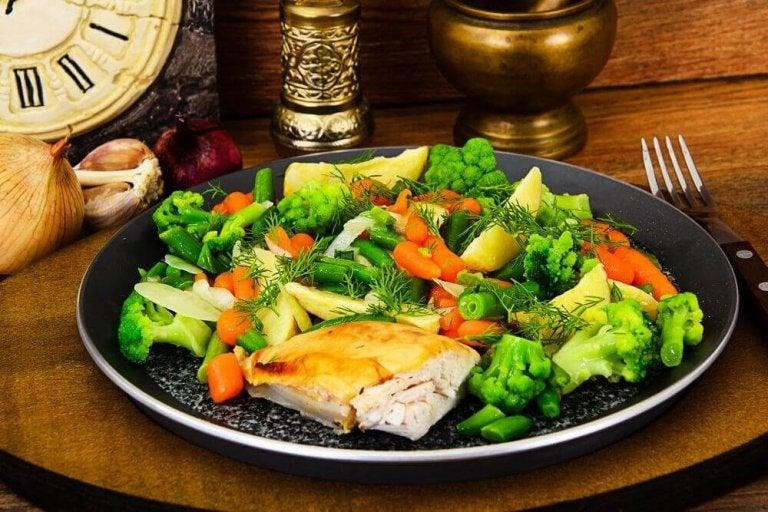 4 recepten voor aardappelpuree en gestoomde groenten