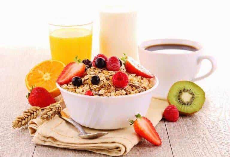 4 recepten voor een snel en gezond ontbijt