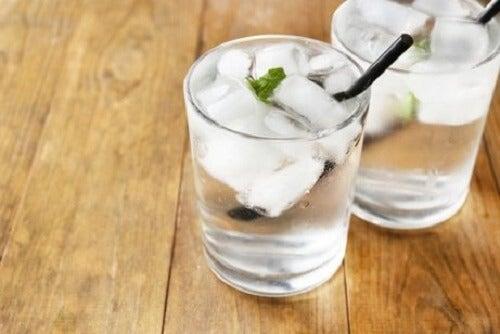 Drink ijskoud water