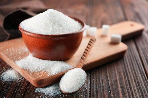 Hoeveelheid witte suiker