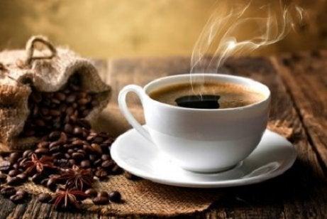 Koffie blokkeert ijzer