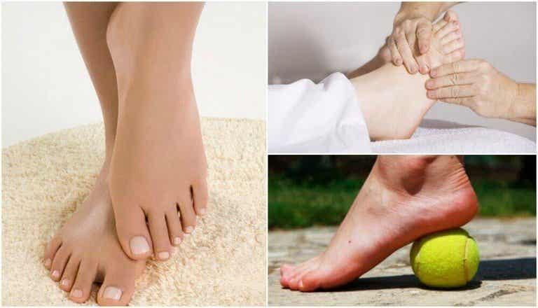 Zelfgemaakte remedies tegen gezwollen voeten