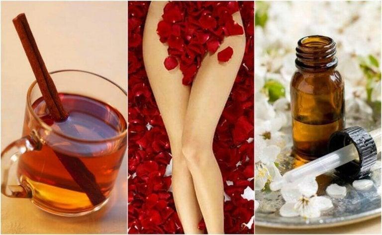 Vijf natuurlijke remedies tegen zware menstruatie