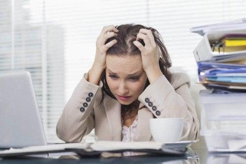 Haaruitval stress