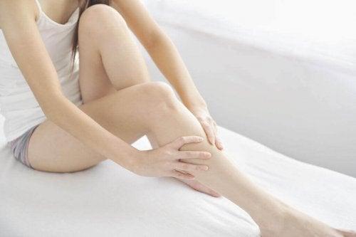 massages voor vermoeide benen