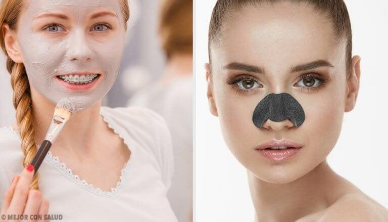 Mee-eters elimineren met deze maskers