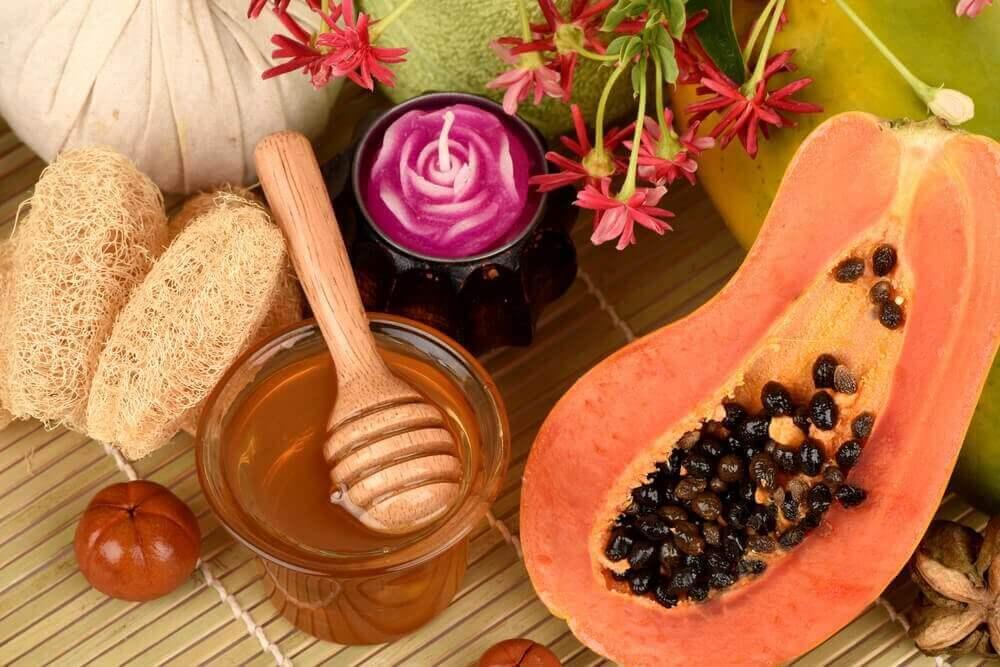 papaya en honing tegen cellulitis