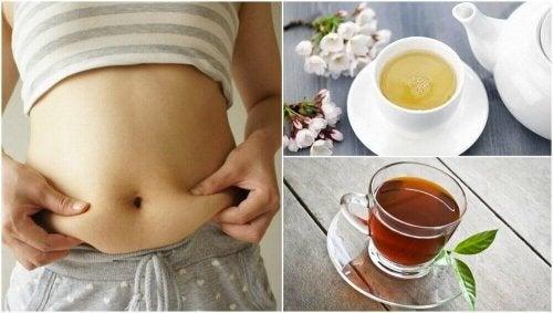 5 theesoorten die helpen om gewicht te verliezen