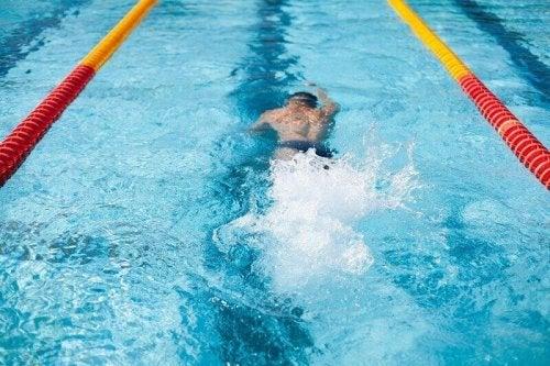 Verdrinking na het zwemmen