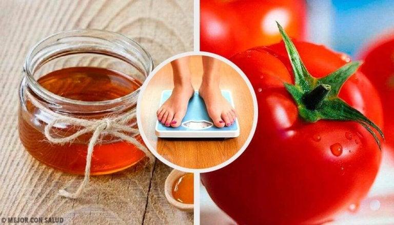 Vier natuurlijke recepten om af te vallen