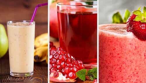 5 recepten voor smoothies met heel weinig calorieën