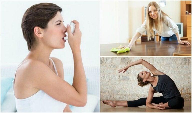 8 tips om astma te behandelen en te beheersen