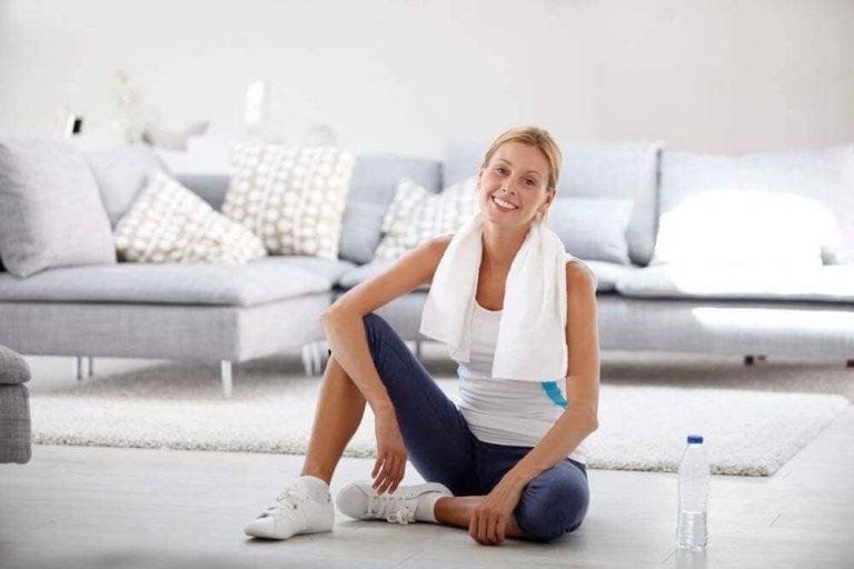 De beste work-out routine voor thuis