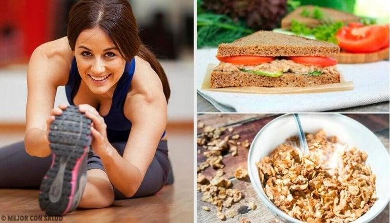 Ontbijten voor het sporten: 7 gezonde ideeën