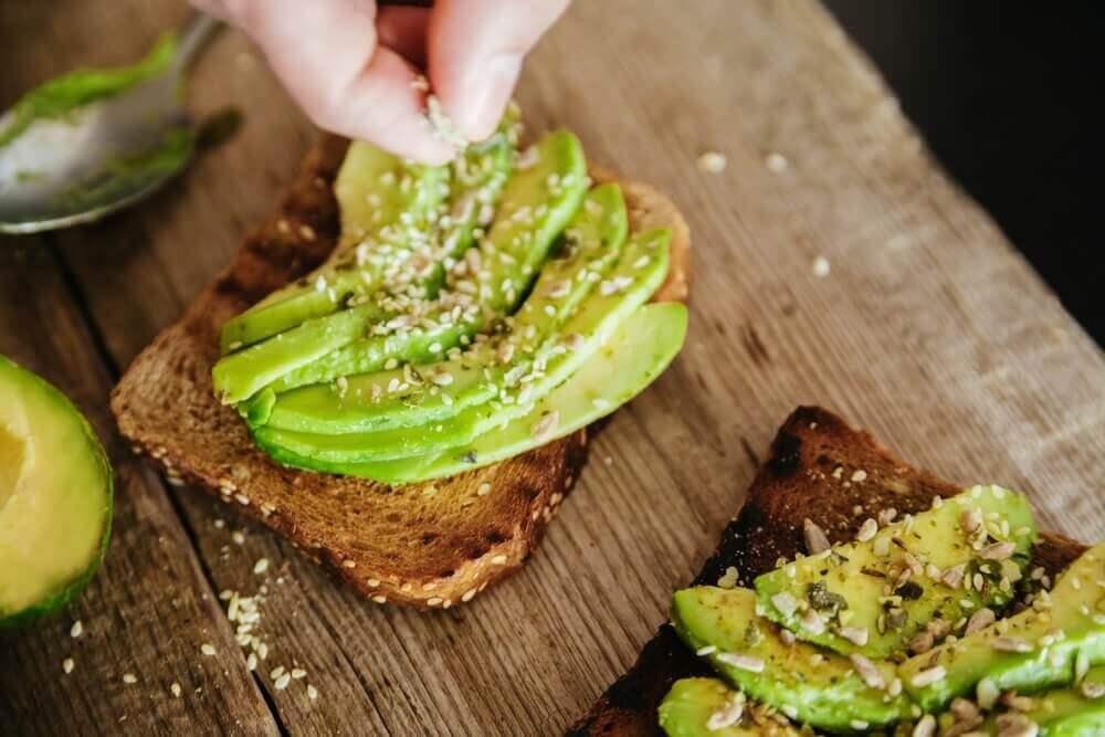 Volkoren toast met avocado