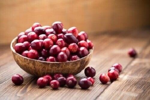 Wat zijn cranberry's
