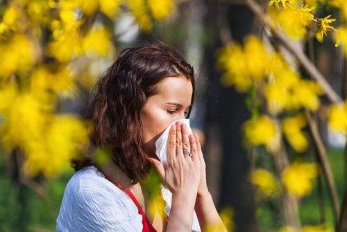 Oorzaken van seizoensgebonden allergieën