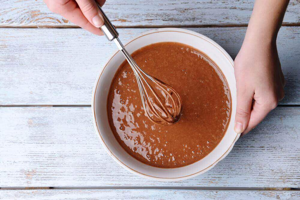 ook chocolade tortilla is een van de overheerlijke desserts om van te genieten