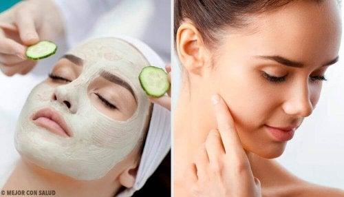 Een gezichtsmasker om je poriën te reinigen
