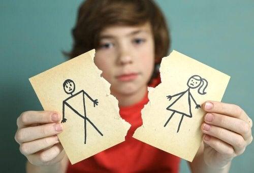Een scheiding kan veel oorzaken kennen