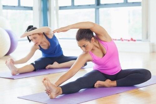 Flexibiliteitsoefeningen