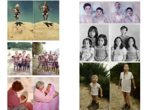 grappige ideeen voor je familiefotos