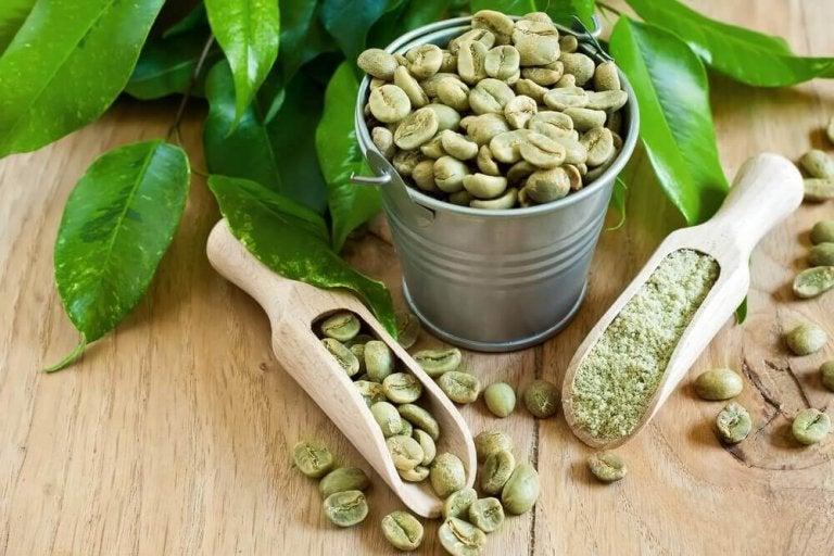 Gewicht verliezen met groene koffiebonen