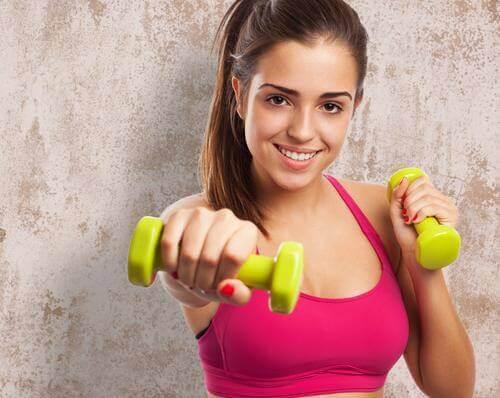 heb je gewichten nodig voor de perfecte trainingsroutine voor je borsten