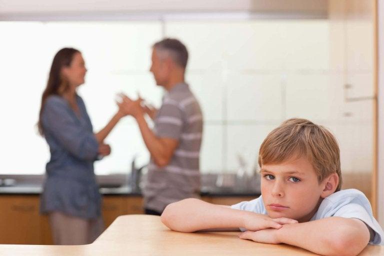 Het effect van een disfunctionele familie op een kind
