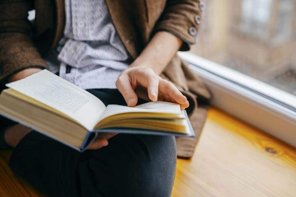 door een paar minuten per dag te lezen doe je nieuwe kennis op