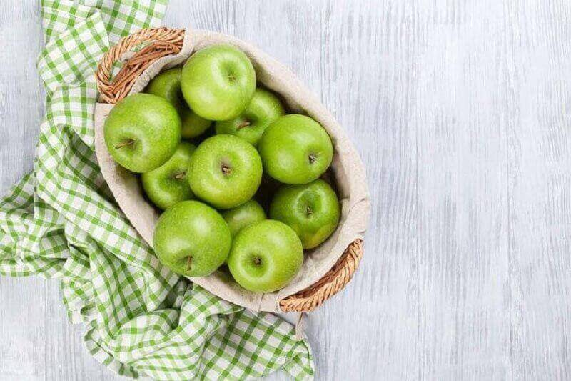 Recept voor een salade met groene appel en selderij