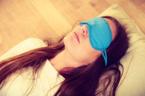 Slapende vrouw