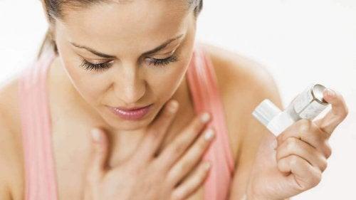 Veel mensen lijden aan astma