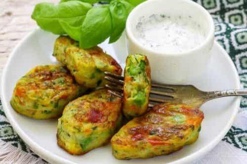 Drie recepten voor vegetarische nuggets
