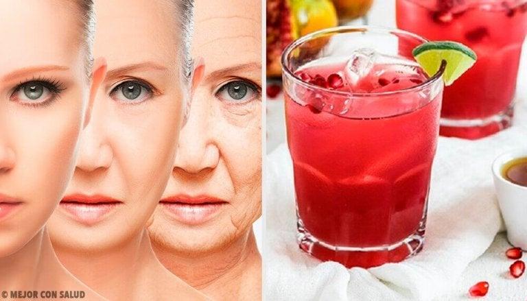 Probeer dit verjongende sap vol antioxidanten