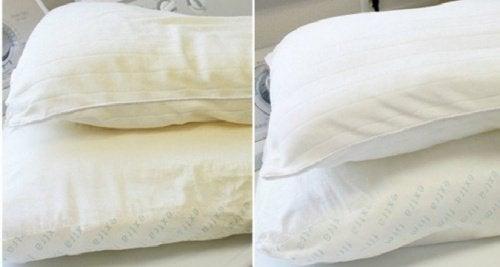 Vier manieren om kussens te wassen en te desinfecteren