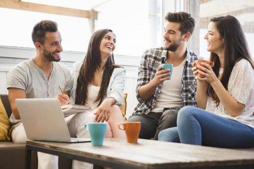Je vriendengroep is een onderdeel van een succesvolle relatie