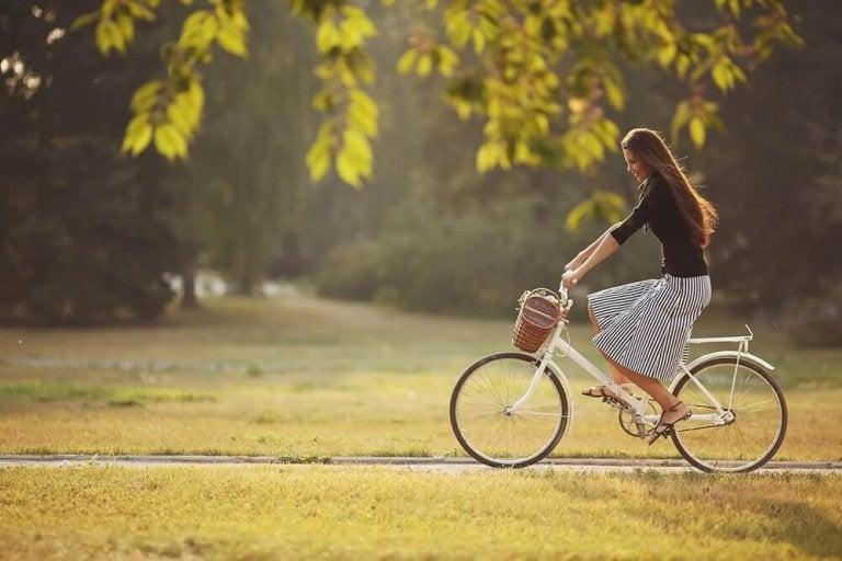 Vier voordelen van fietsen