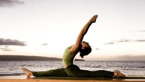 Yoga om af te vallen
