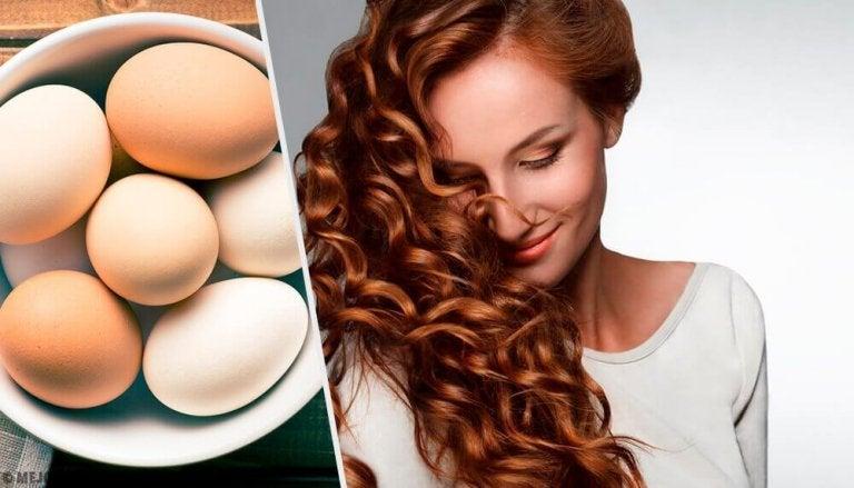 Zo kan je eieren gebruiken voor haarverzorging