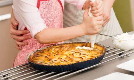 Aangepast recept voor appeltaart