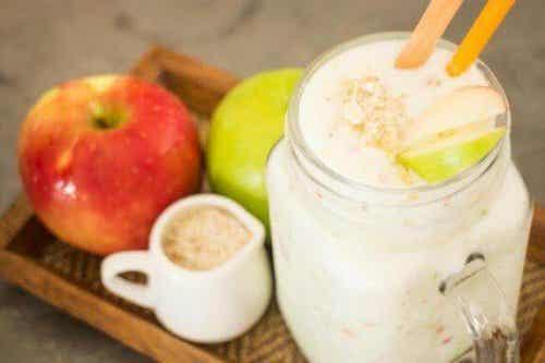 Gezond voor je hart: haver en appels