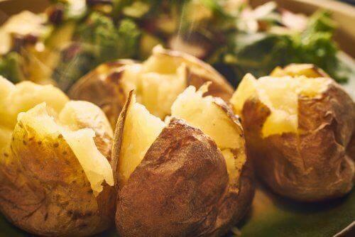 Gezonde aardappels