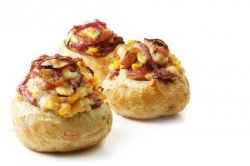 Heerlijke aardappels uit de oven