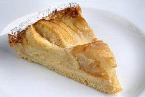 Het eenvoudigste recept voor appeltaart
