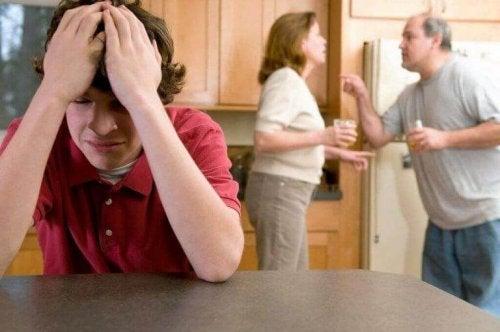 Kinderen en huiselijk geweld