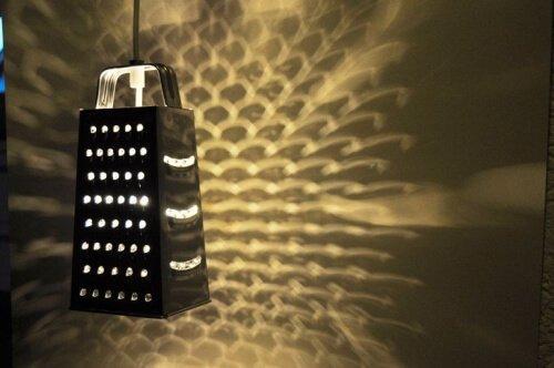 Lamp van een rasp